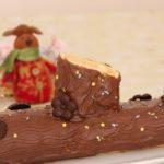 Tronco de Navidad con Nutella