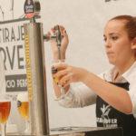 Una malagueña de Alhaurín de la Torre, la mejor tiradora de cerveza de Andalucía